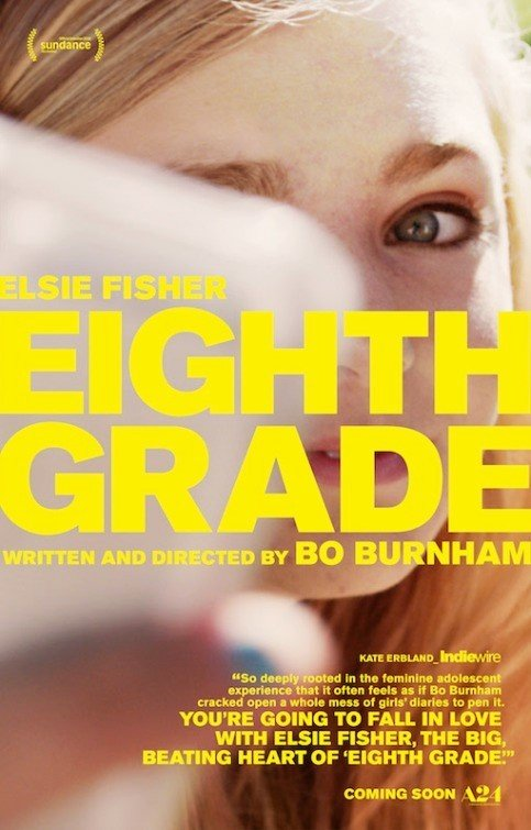 Poster of A24's Eighth Grade (2018)