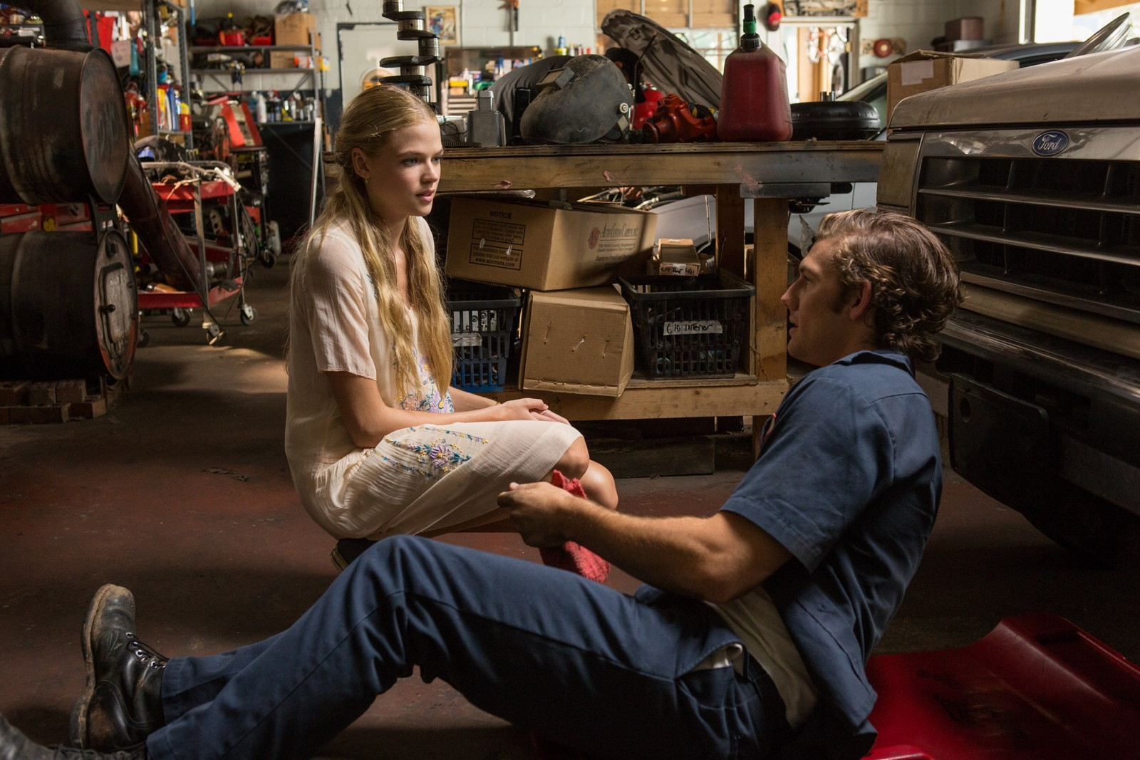 Gabriella Wilde stars as Jade Butterfield and Alex Pettyfer stars as David Elliot in Universal Pictures' Endless Love (2014)