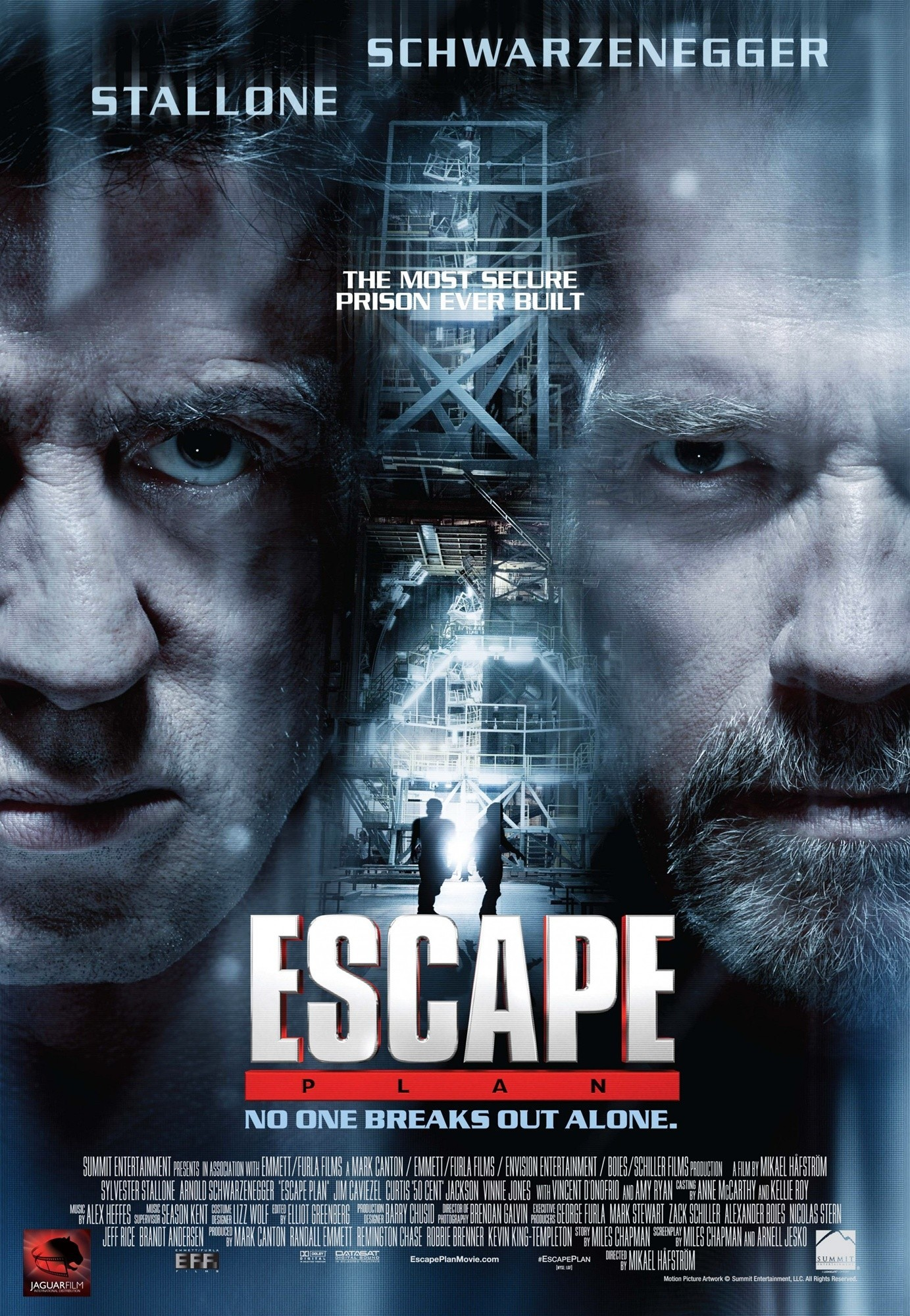 Poster of Summit Entertainment's Escape Plan (2013)