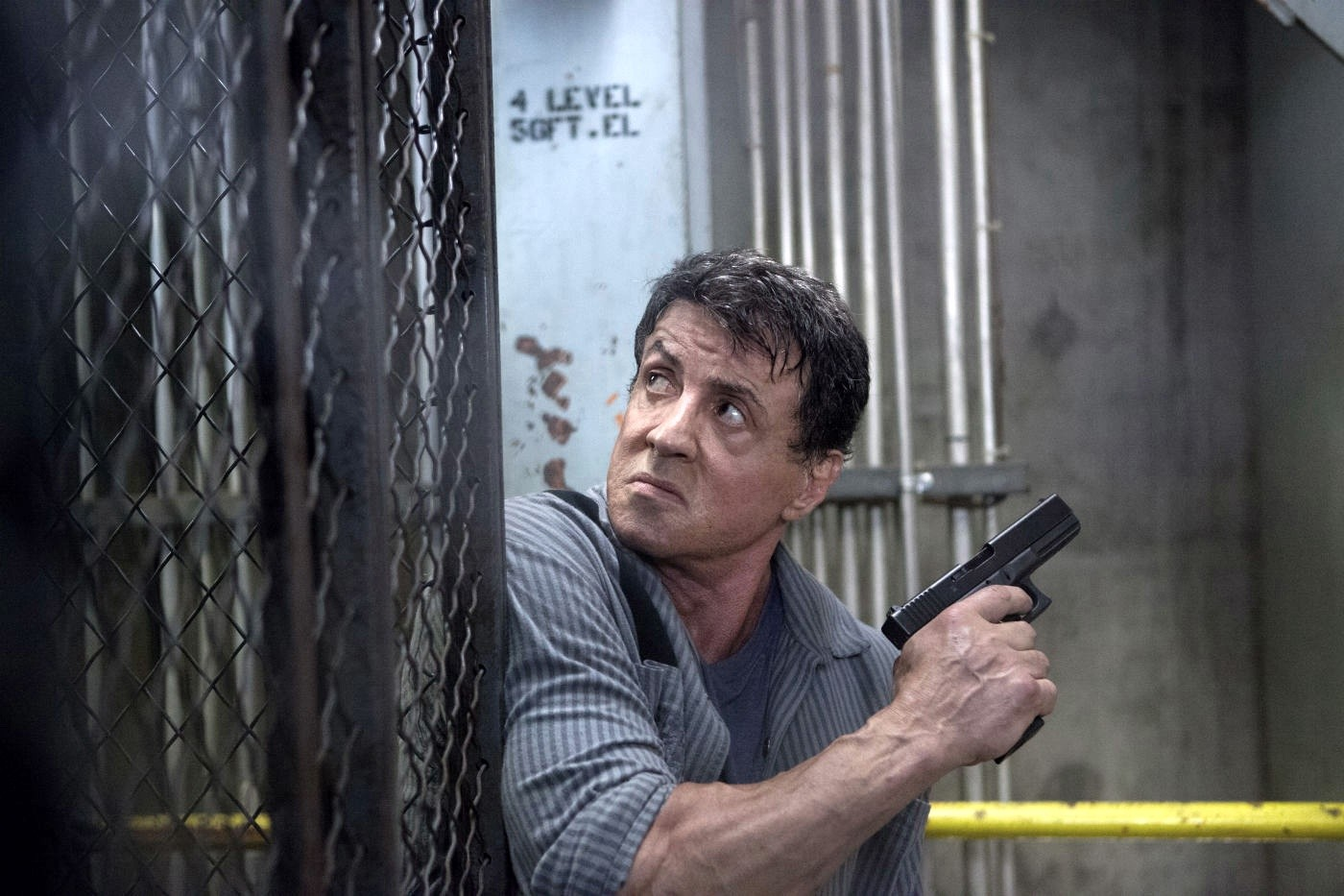 Sylvester Stallone stars as Ray Breslin in Summit Entertainment's Escape Plan (2013)