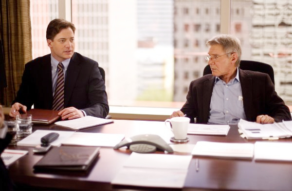 Brendan Fraser stars as John Crowley and Harrison Ford stars as Dr. Robert Stonehill in CBS Films' Extraordinary Measures (2010)