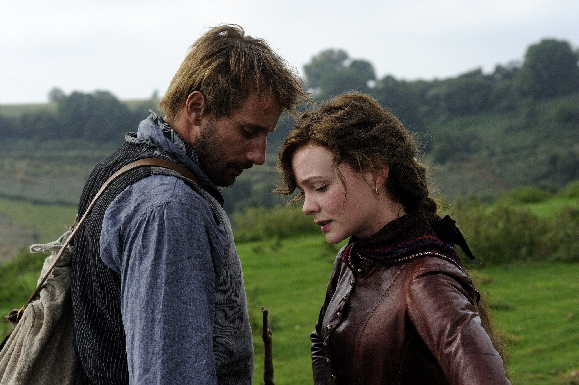 Matthias Schoenaerts stars as Gabriel Oak and Carey Mulligan stars as Bathsheba Everdene in Fox Searchlight Pictures' Far from the Madding Crowd (2015)