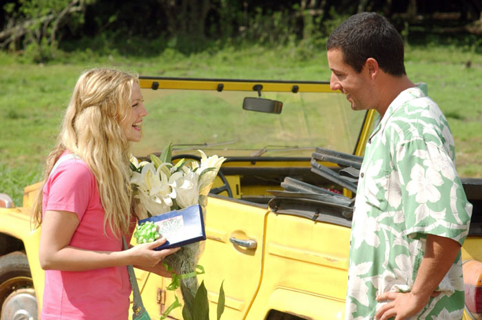 Adam Sandler and Drew Barrymore in Columbia Pictures' 50 First Dates (2004)