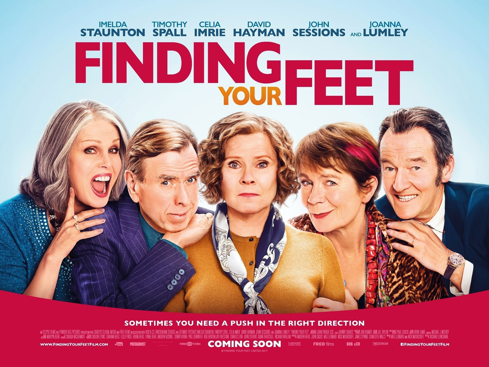 Finding Your Feet (2018) Pictures, Trailer, Reviews, News, DVD and  Soundtrack