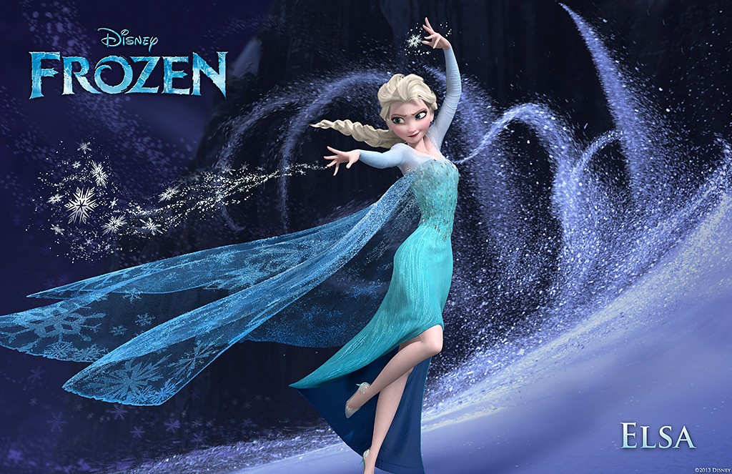 Elsa The Snow Queen from Walt Disney Pictures' Frozen (2013)