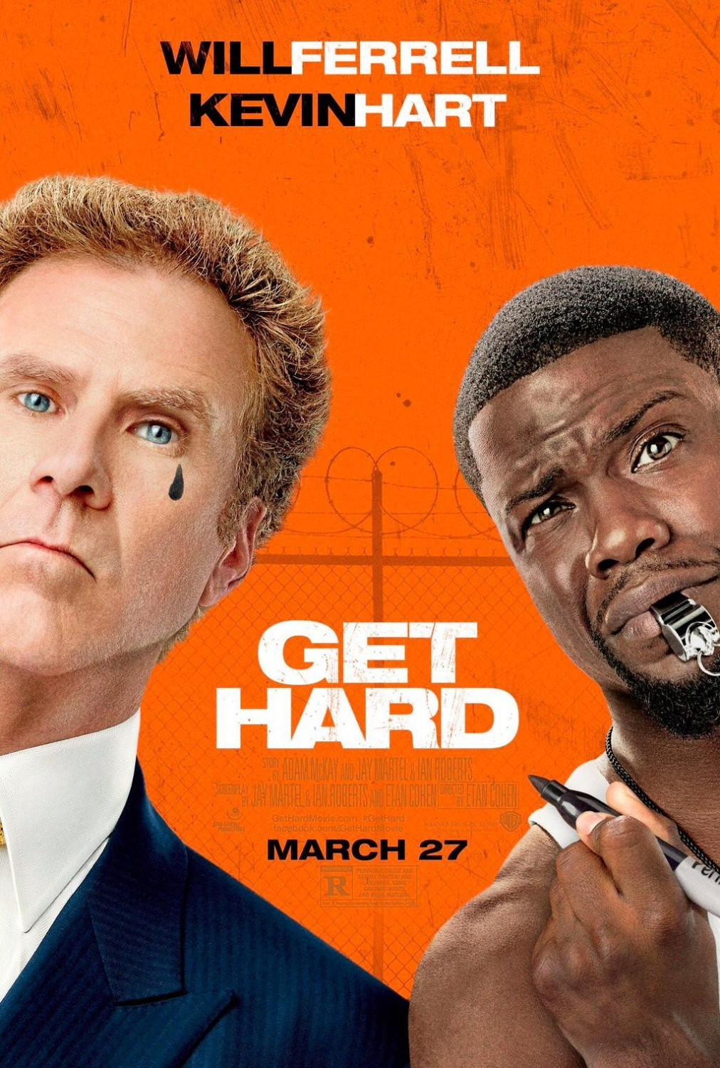 Poster of Warner Bros. Pictures' Get Hard (2015)