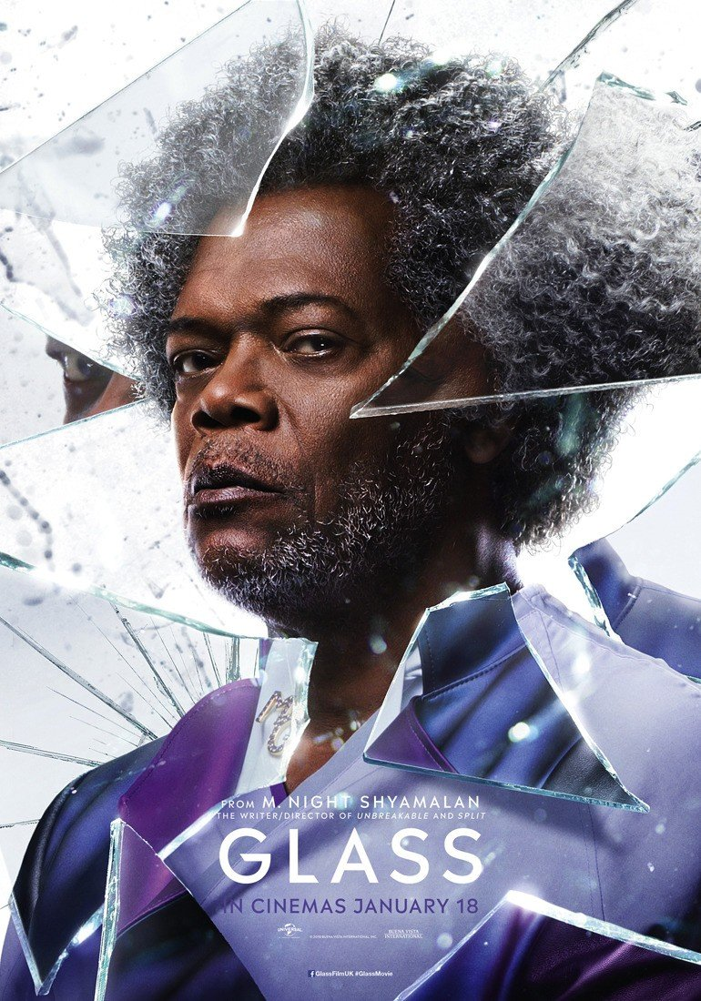 Poster of Universal Pictures' Glass (2019)
