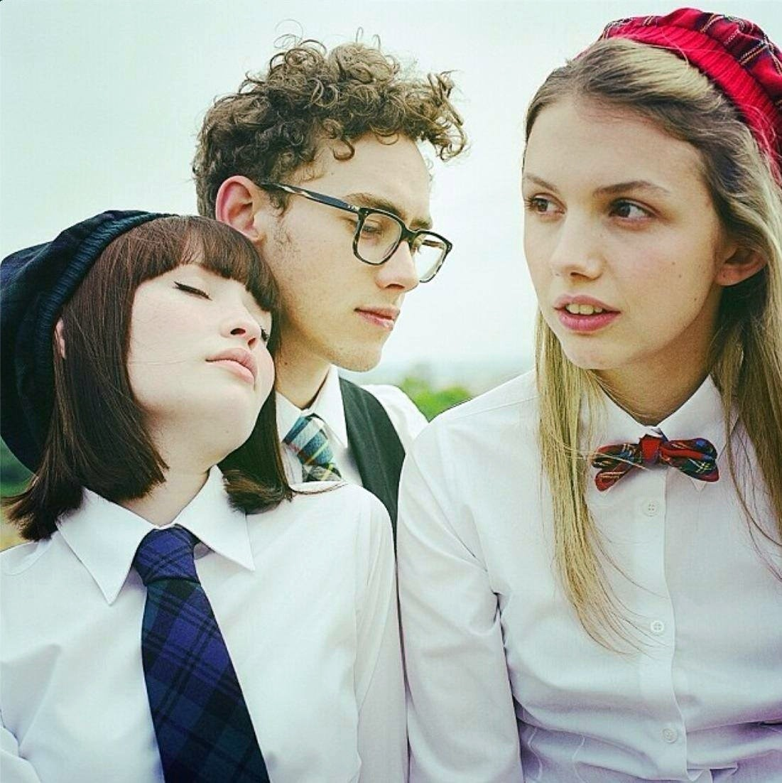Emily Browning, Olly Alexander and Hannah Murray in Amplify's God Help the Girl (2014)