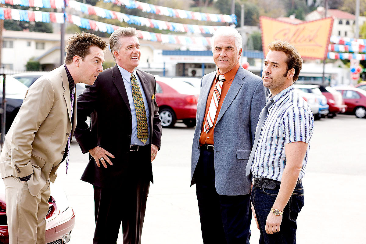 Ed Helms, Alan Thicke, James Brolin and Jeremy Piven in Paramount Vantage's The Goods: Live Hard, Sell Hard (2009)