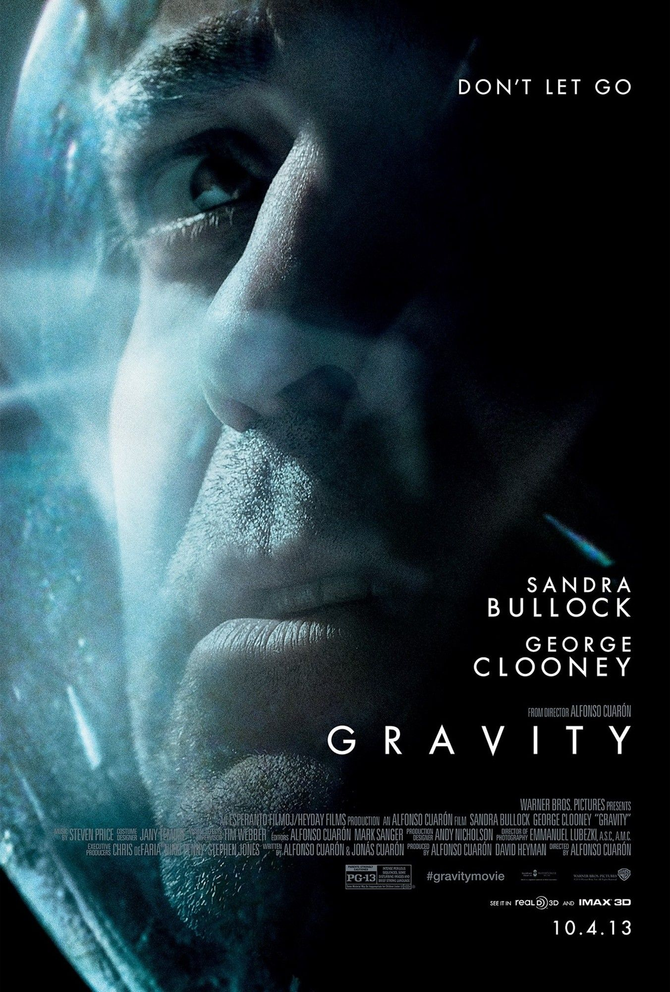 Poster of Warner Bros. Pictures' Gravity (2013)
