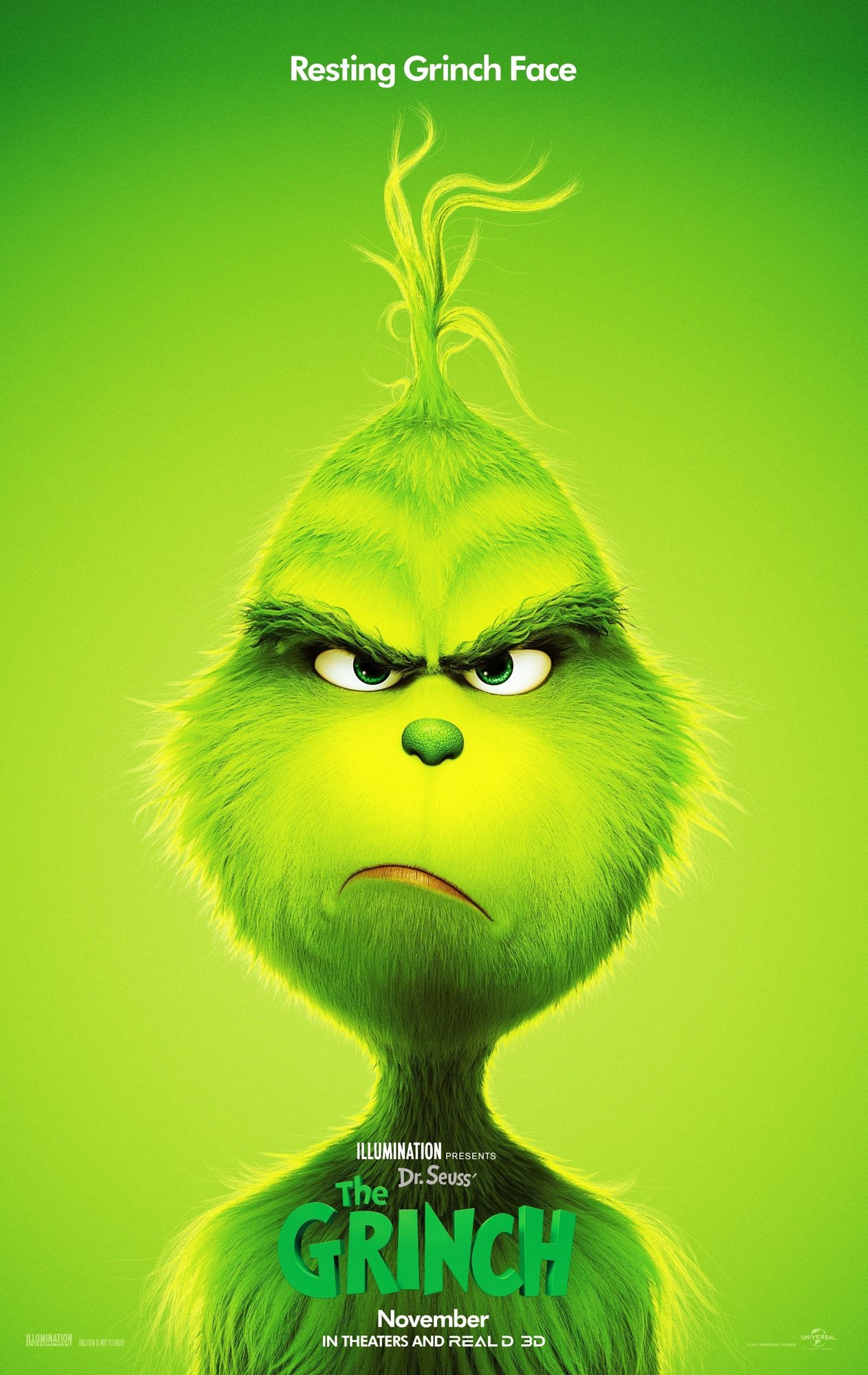 Poster of Universal Pictures' The Grinch (2018)