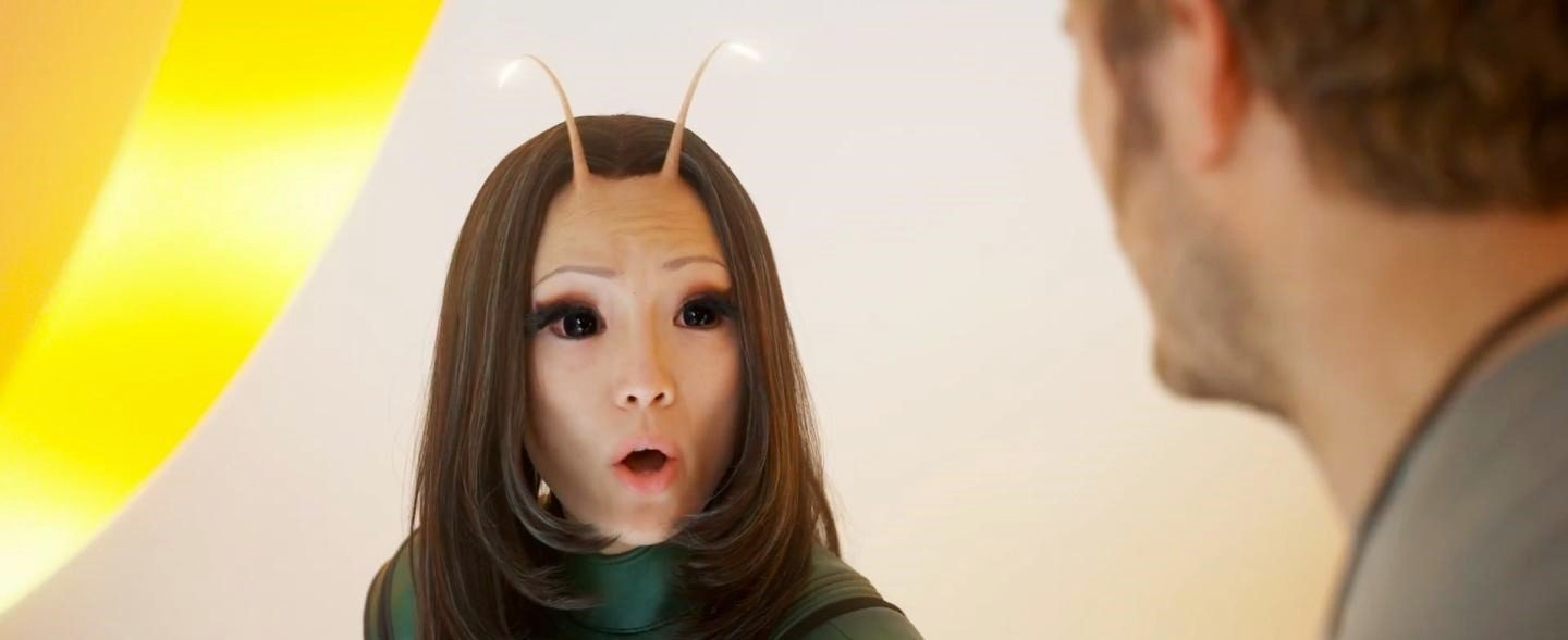 Pom Klementieff stars as Mantis in Walt Disney Pictures' Guardians of the Galaxy Vol. 2 (2017)