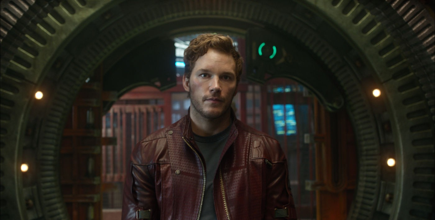 Chris Pratt stars as Peter Quill/Star-Lord in Marvel Studios' Guardians of the Galaxy (2014)