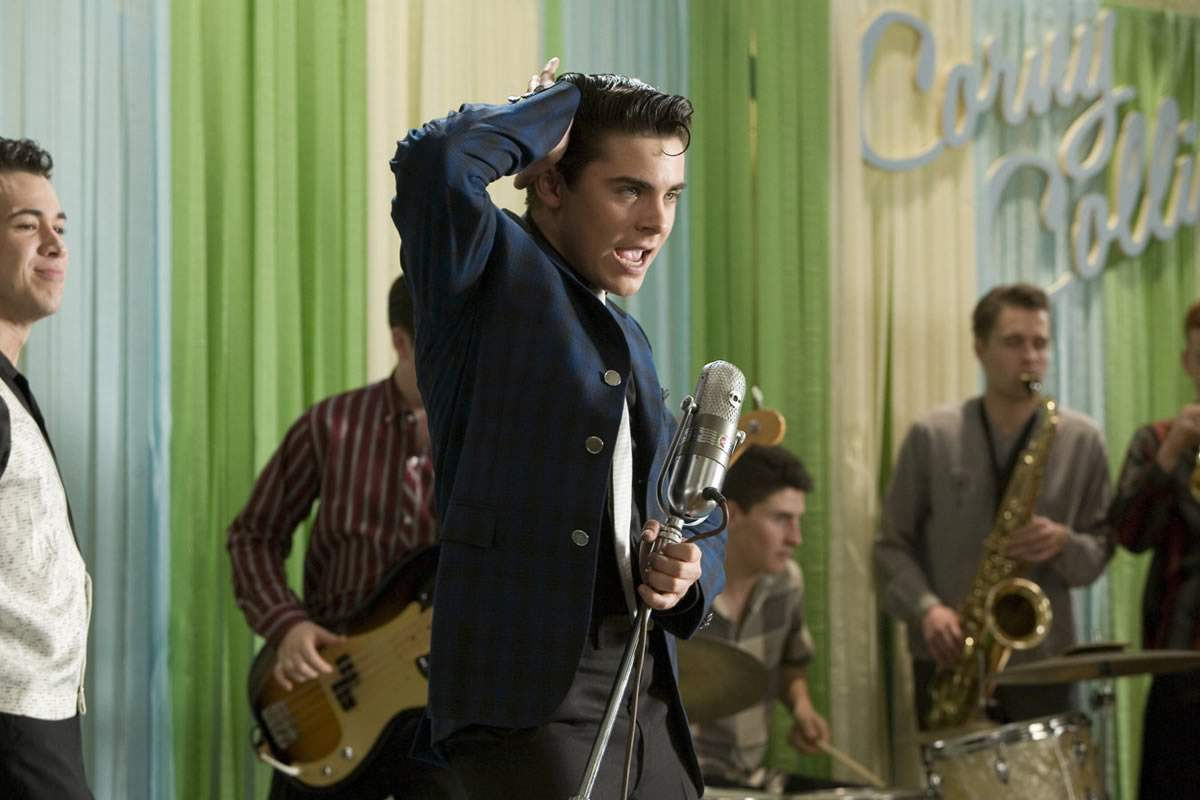 Zac Efron as Link Larkin in New Line Cinema's Hairspray (2007)