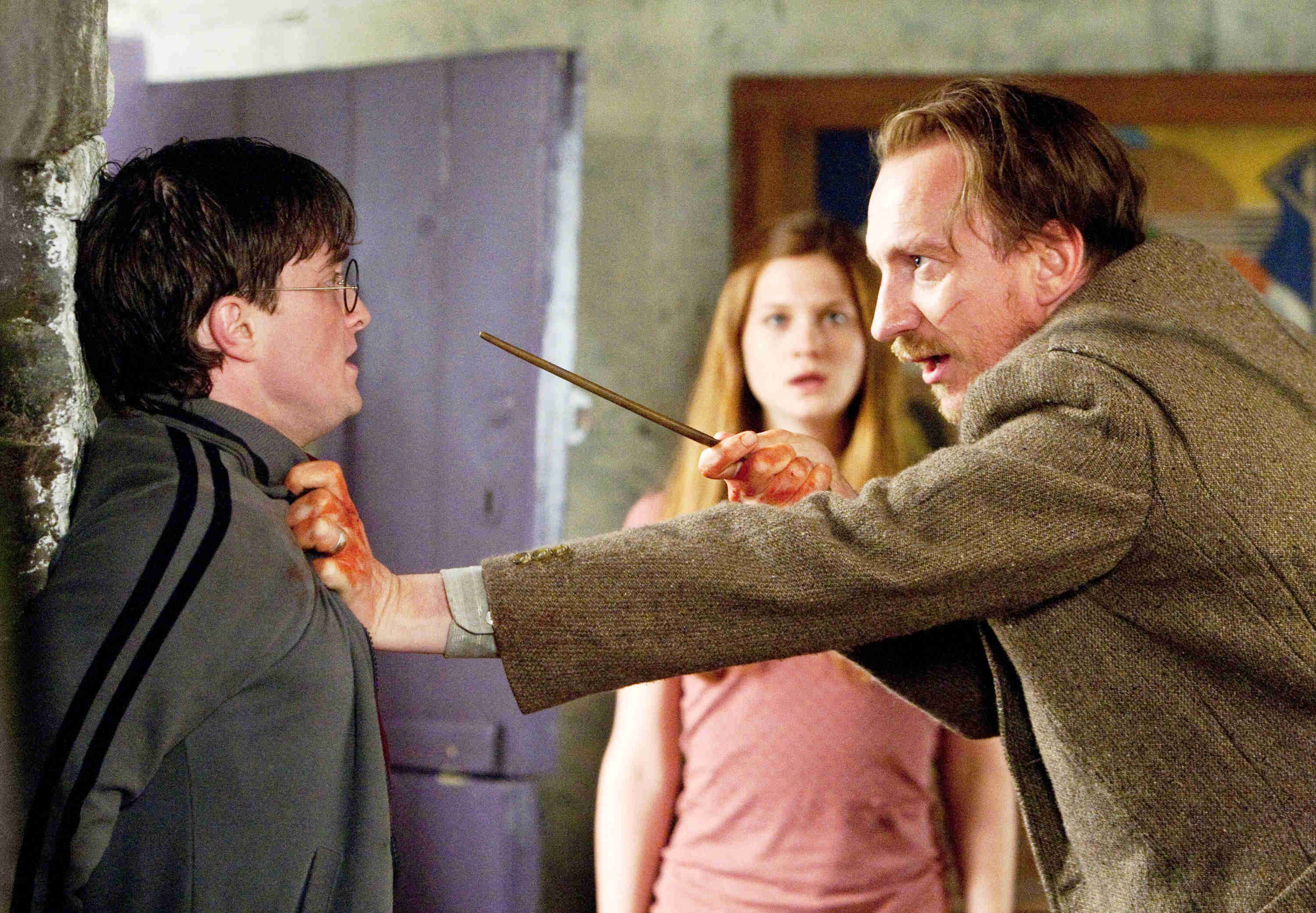 Daniel Radcliffe, David Thewlis, Bonnie Wright