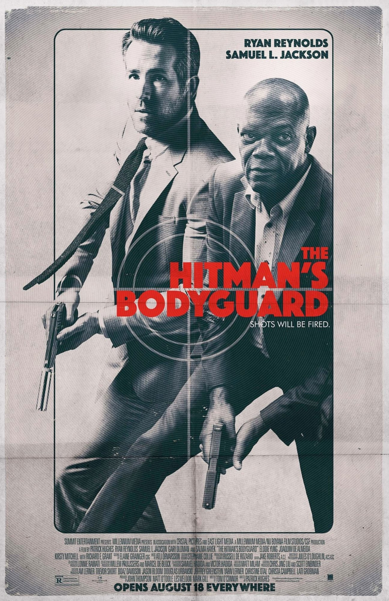 Poster of Lionsgate Films' The Hitman's Bodyguard (2017)