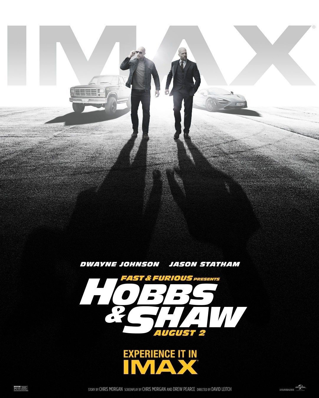 Poster of Universal Pictures' Fast & Furious Presents: Hobbs & Shaw (2019)