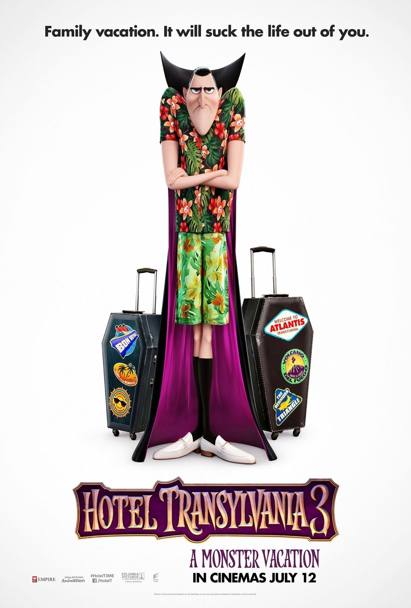 Poster of Columbia Pictures' Hotel Transylvania 3: Summer Vacation (2018)