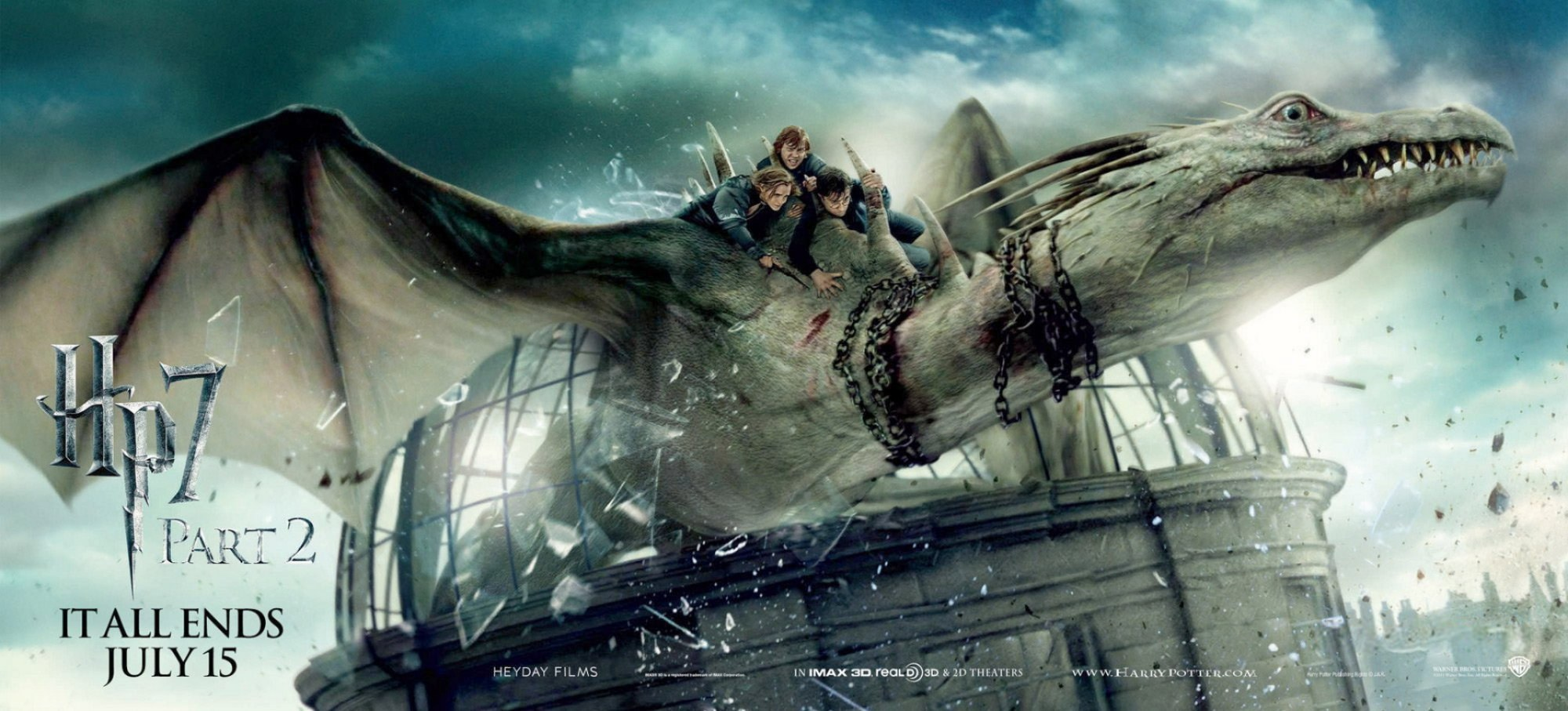 Poster of Warner Bros. Pictures' Harry Potter and the Deathly Hallows: Part II (2011)