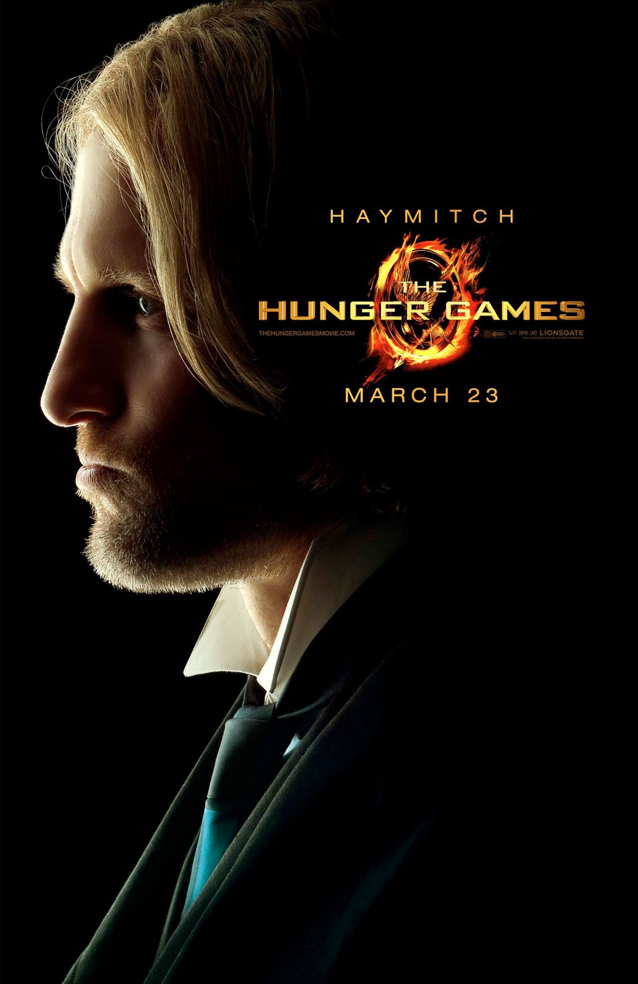 Poster of Lionsgate Films' The Hunger Games (2012)