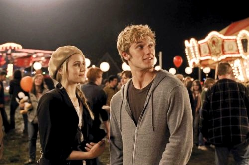 dianna agron and alex pettyfer i am number four premiere. Dianna Agron, Alex Pettyfer