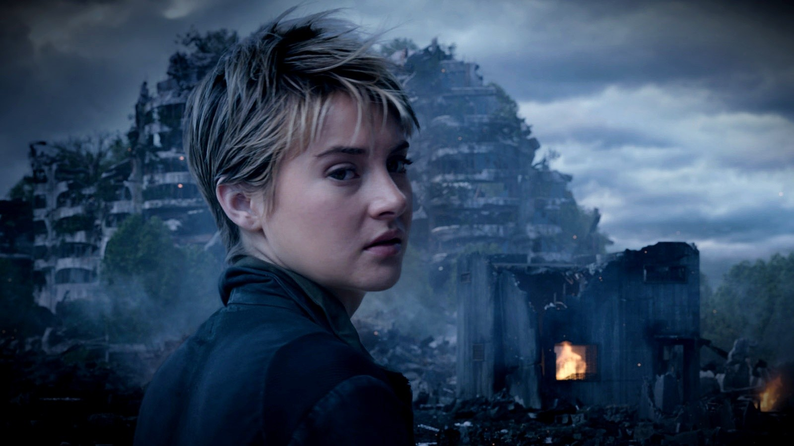 Shailene Woodley stars as Tris in Summit Entertainment's The Divergent Series: Insurgent (2015)