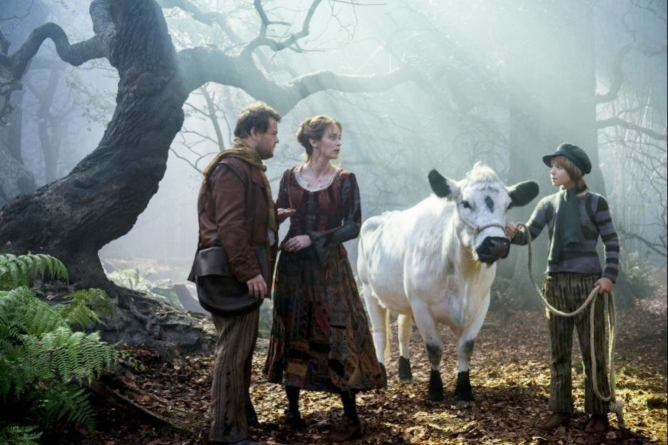 James Corden, Emily Blunt and Daniel Huttlestone in Walt Disney Pictures' Into the Woods (2014)