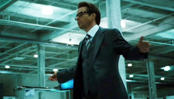 Sam Rockwell stars as Justin Hammer in Paramount Pictures' Iron Man 2 (2010)