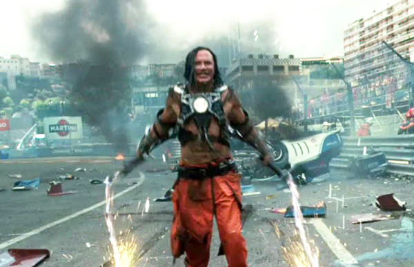 Mickey Rourke stars as Ivan/Whiplash in Paramount Pictures' Iron Man 2 (2010)