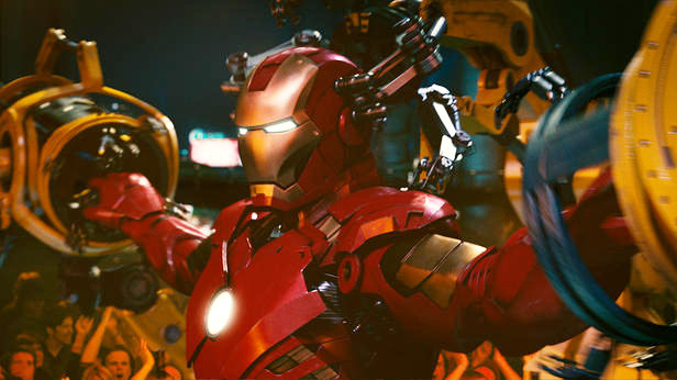 A scene from Paramount Pictures' Iron Man 2 (2010)