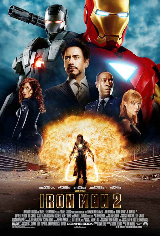 Poster of Paramount Pictures' Iron Man 2 (2010)