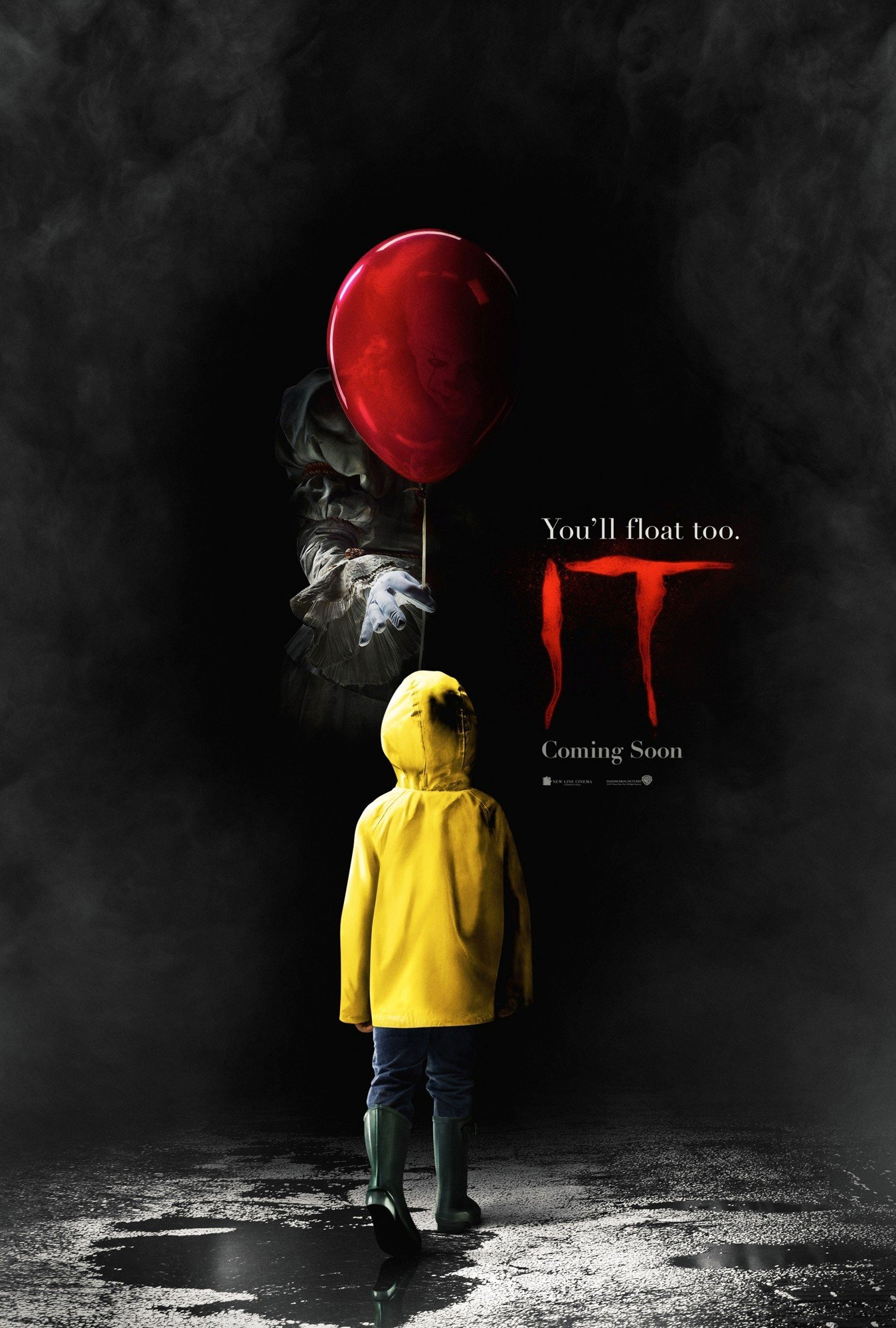 Poster of Warner Bros. Pictures' It (2017)
