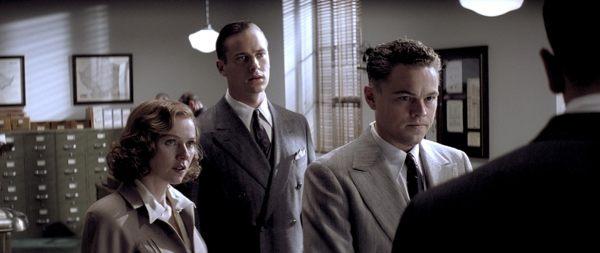 Naomi Watts, Armie Hammer and Leonardo DiCaprio in Warner Bros. Pictures' J. Edgar (2011)
