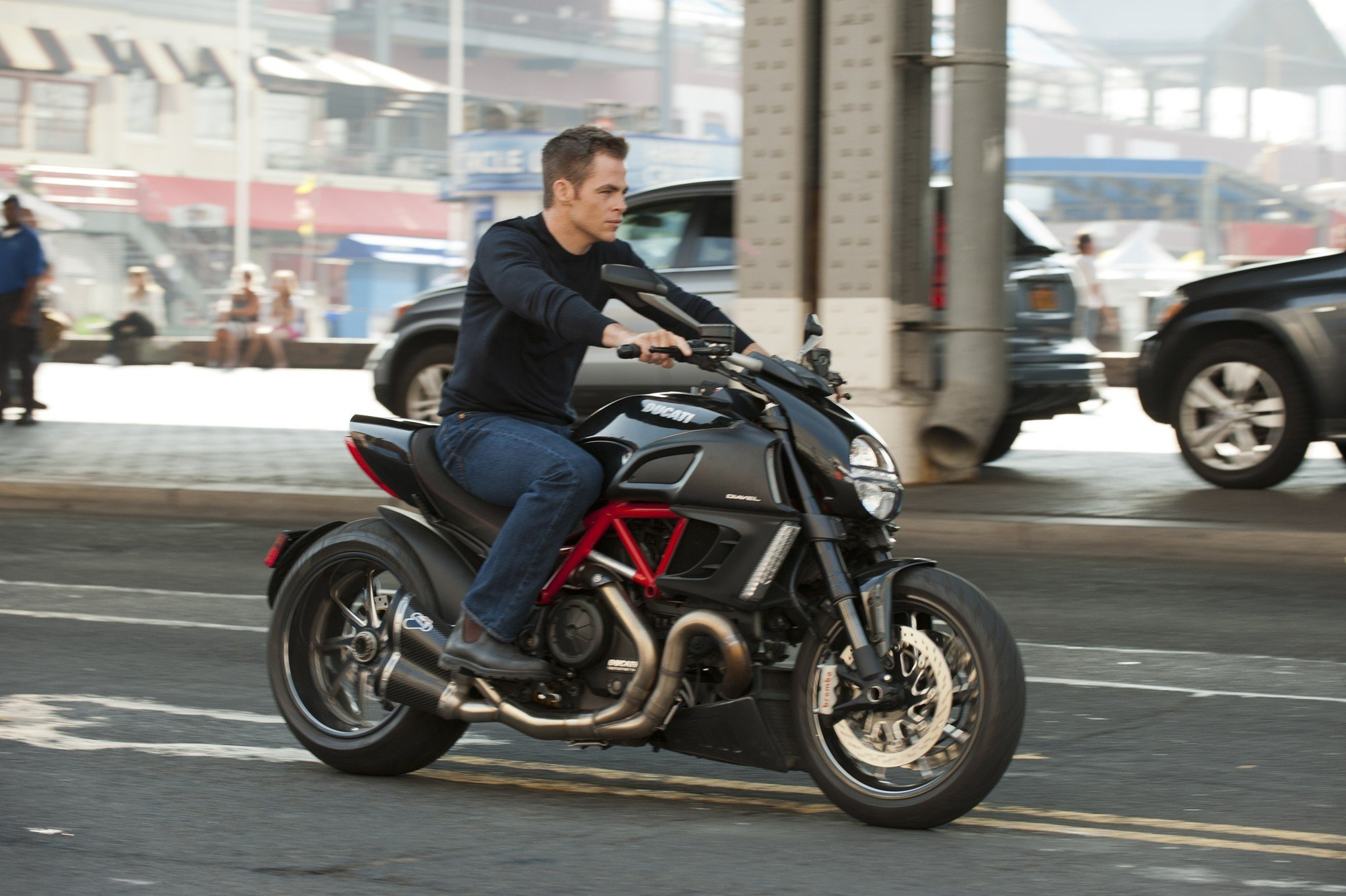 Chris Pine stars as Jack Ryan in Paramount Pictures'  Jack Ryan: Shadow Recruit (2014). Photo credit by  David Lee.
