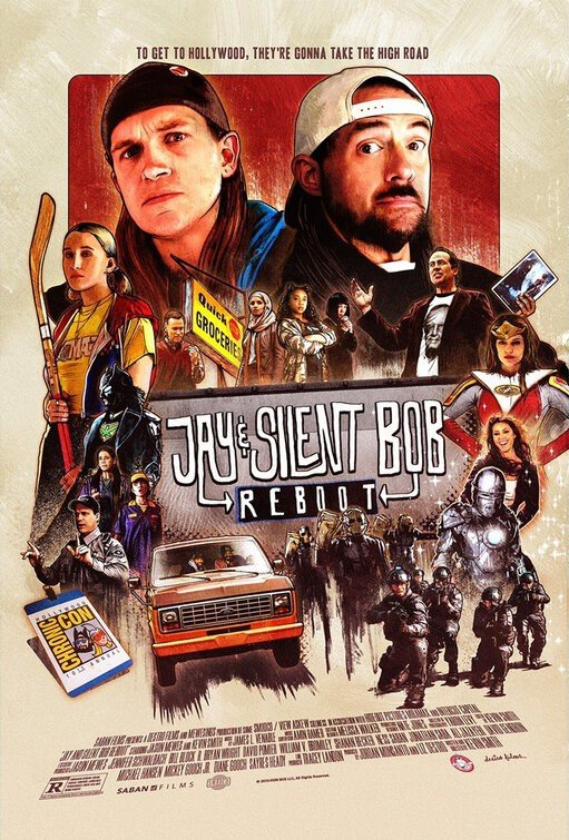 Poster of Saban Films' Jay and Silent Bob Reboot (2019)