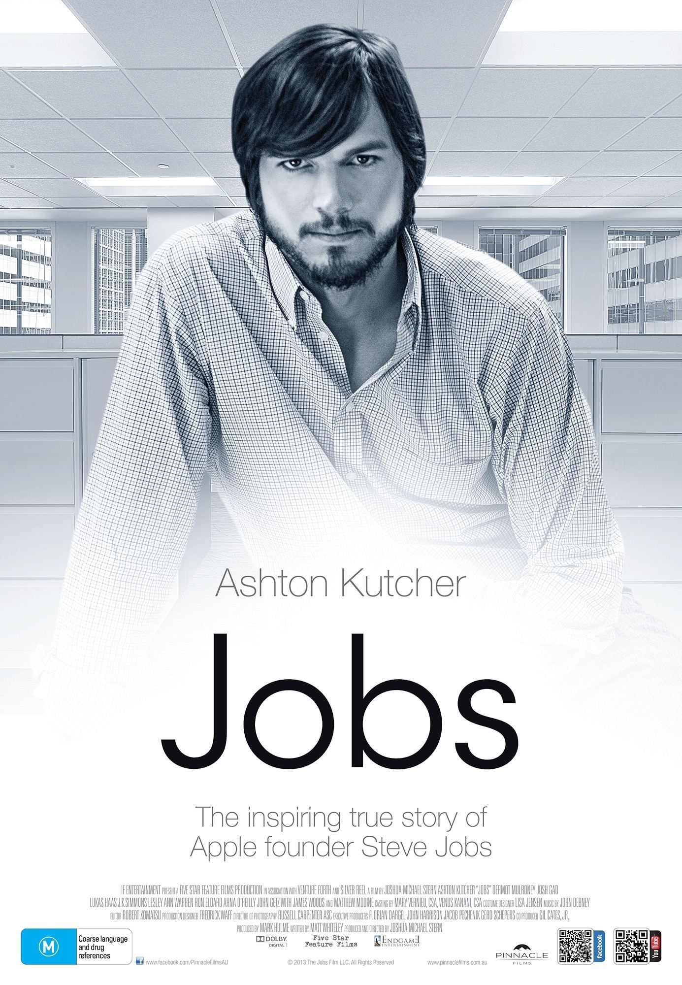 Poster of Open Road Films' jOBS (2013)