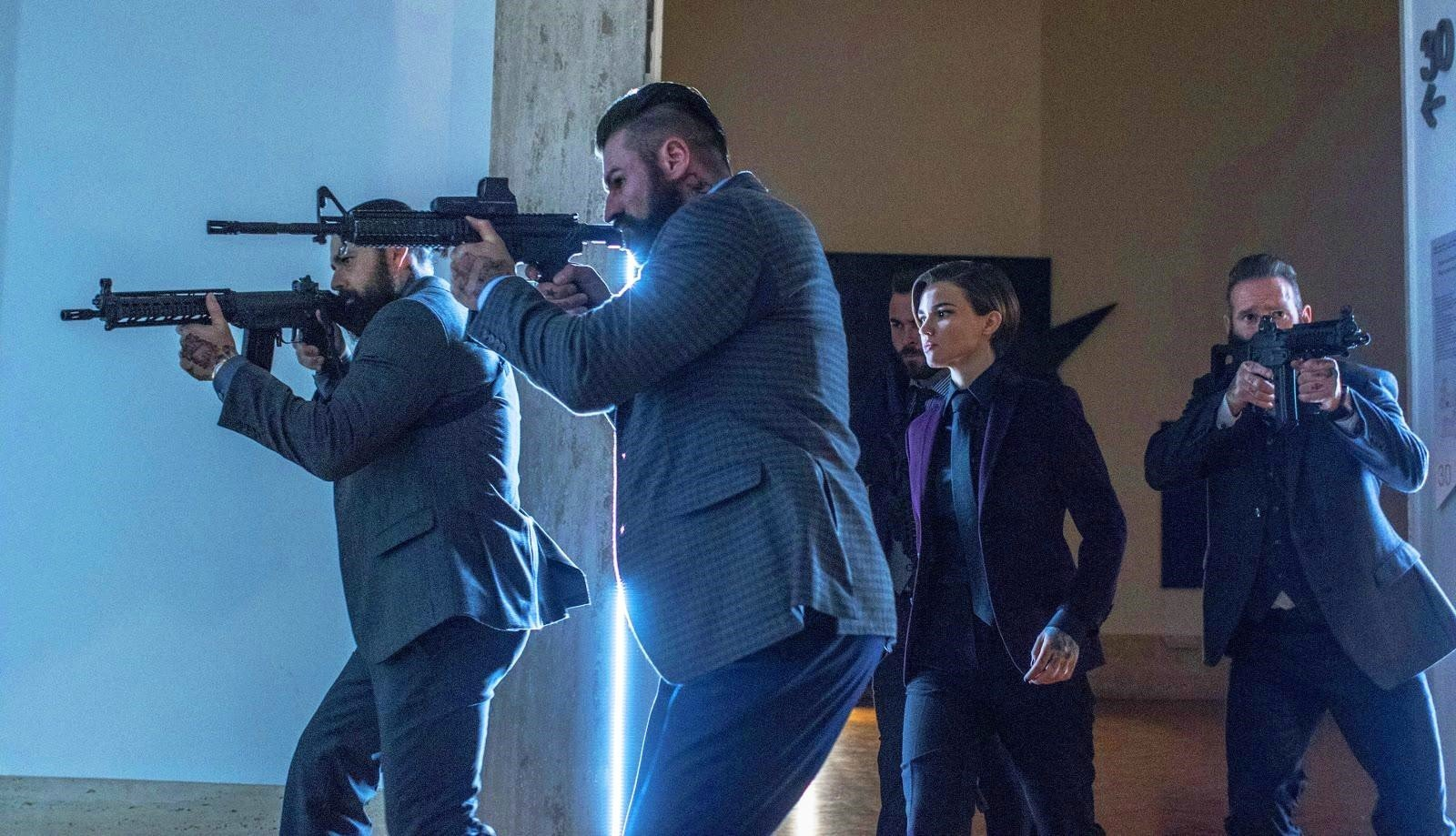 Ruby Rose stars as Ares in Summit Entertainment's John Wick: Chapter 2 (2017)