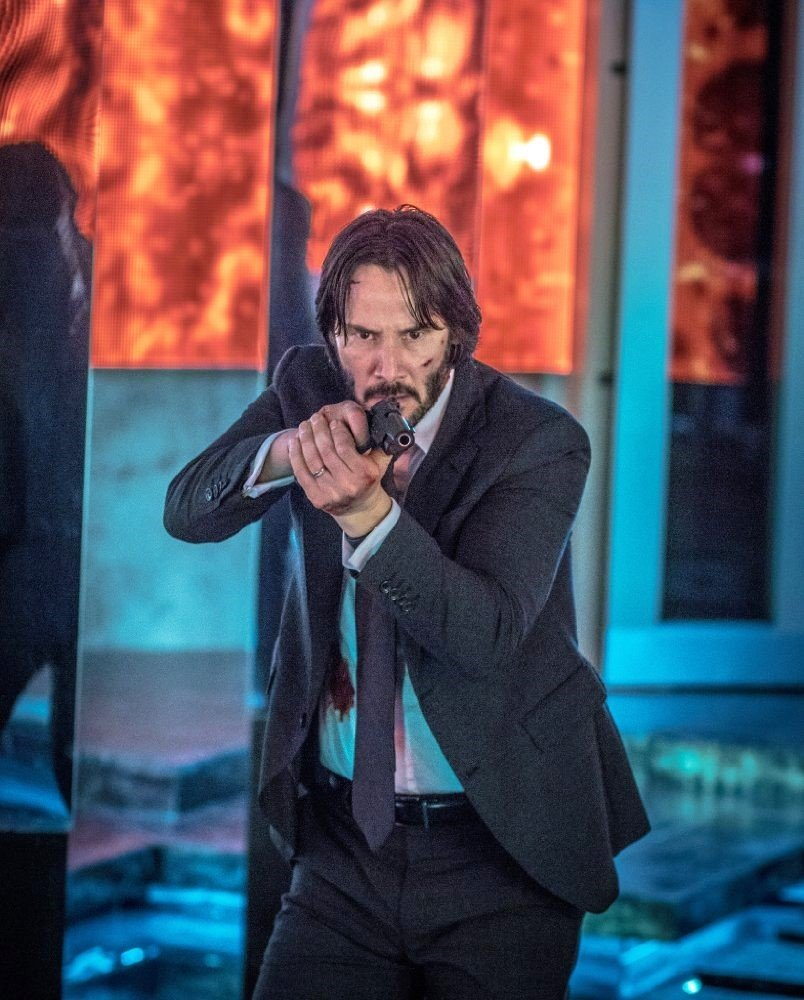 Keanu Reeves stars as John Wick in Summit Entertainment's John Wick: Chapter 2 (2017)