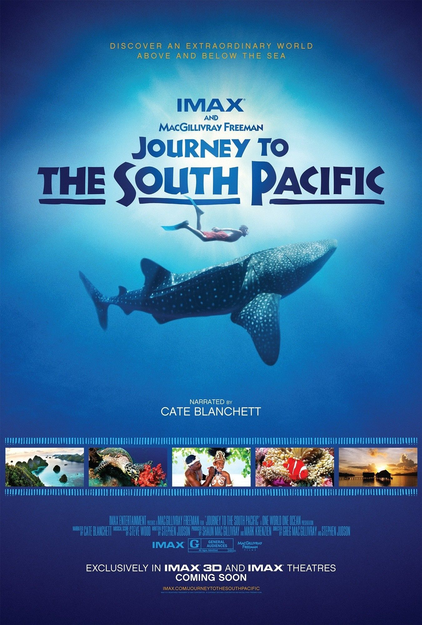 Poster of IMAX Entertainment's Journey to the South Pacific (2013)
