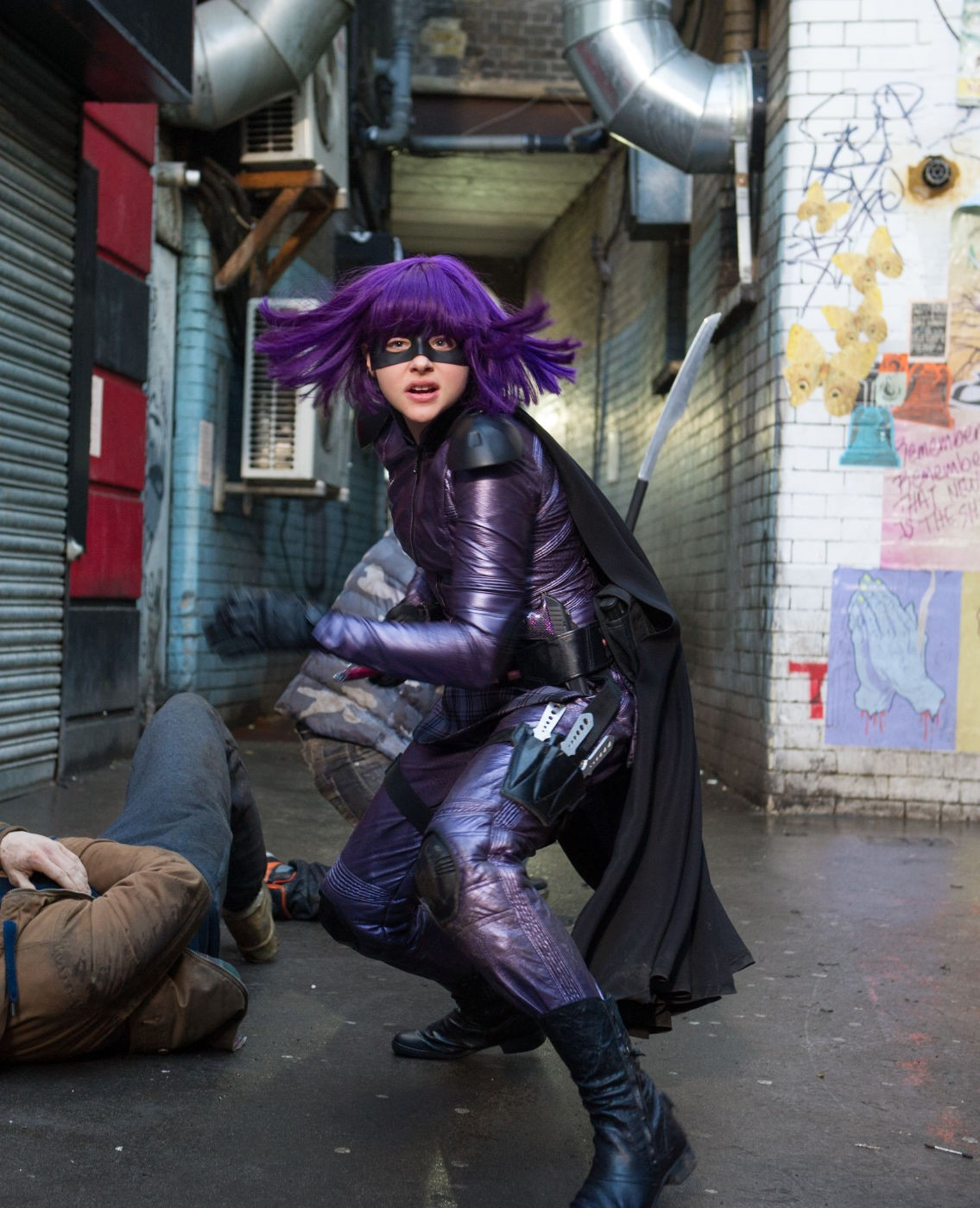 Chloe Moretz stars as Mindy Macready/Hit-Girl in Universal Pictures' Kick-Ass 2 (2013)