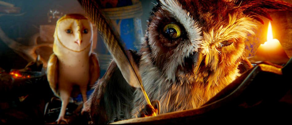 A scene from Warner Bros. Pictures' Legend of the Guardians: The Owls of Ga'Hoole (2010)