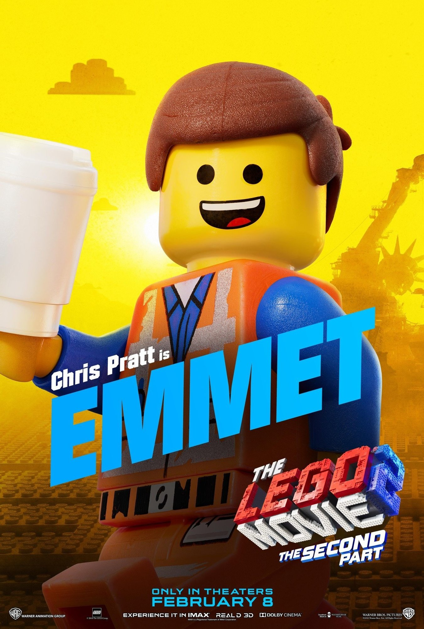 Poster of Warner Bros. Pictures' The Lego Movie 2: The Second Part (2019)