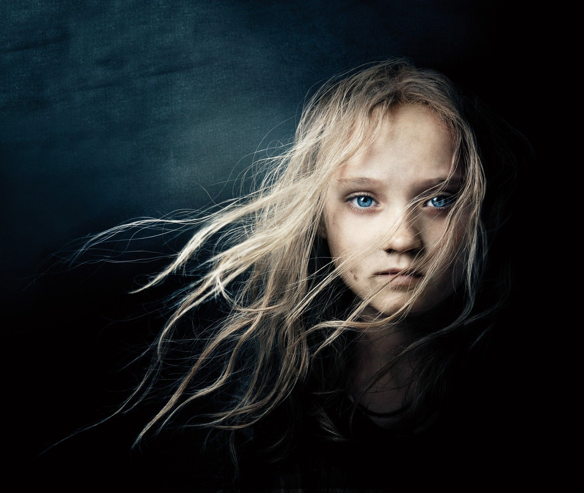 Isabelle Allen stars as Young Cosette in Universal Pictures' Les Miserables (2012)