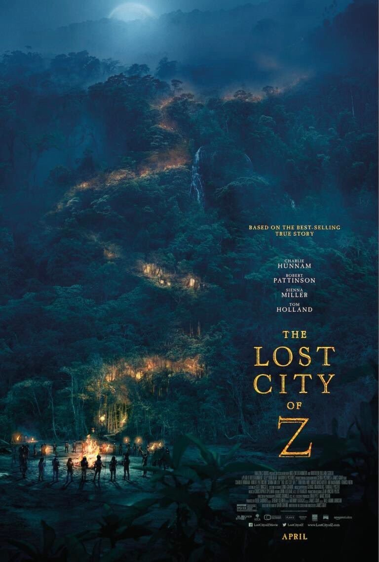 Poster of Amazon Studios' The Lost City of Z (2017)