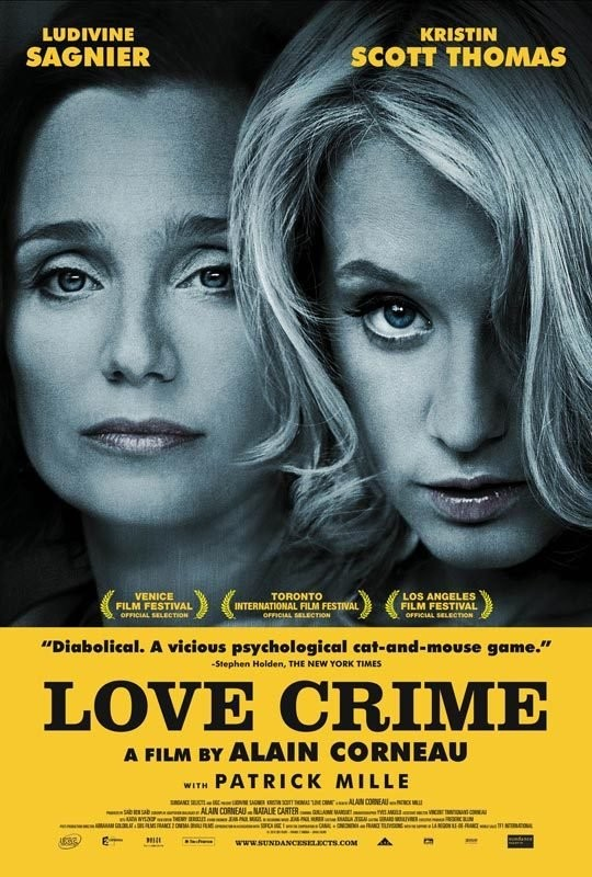 Poster of Sundance Selects' Love Crime (2011)