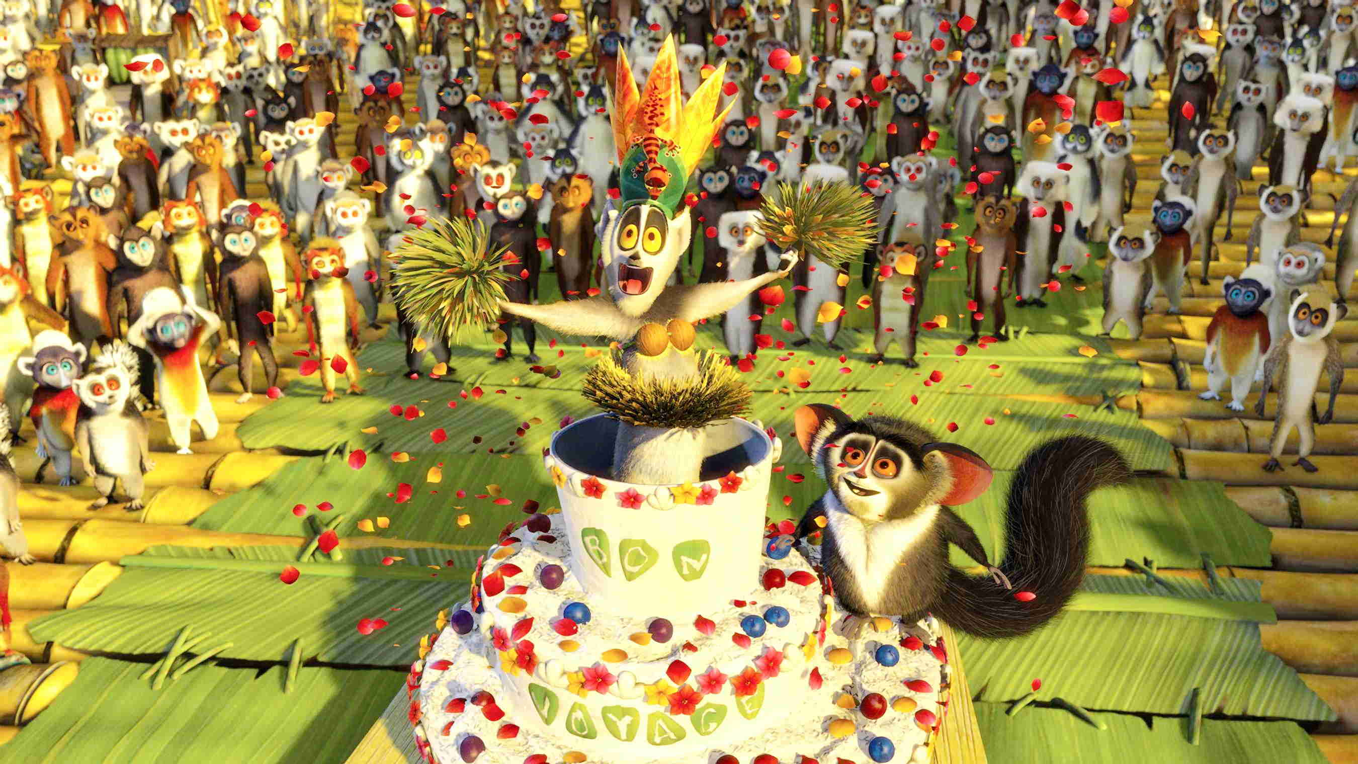 A scene from DreamWorks Pictures' Madagascar: Escape 2 Africa (2008)