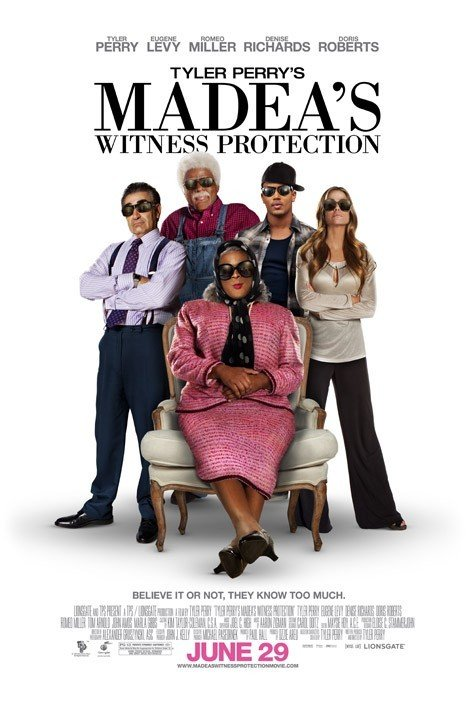 Poster of Lionsgate's Madea's Witness Protection (2012)