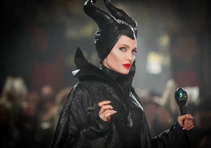 Angelina Jolie stars as Maleficent in Walt Disney Pictures' Maleficent (2014)