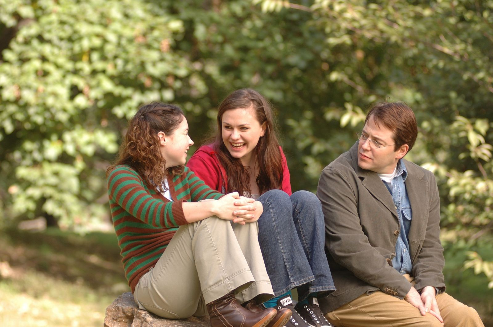 Sarah Steele, Anna Paquin and Matthew Broderick in Fox Searchlight Pictures' Margaret (2011)