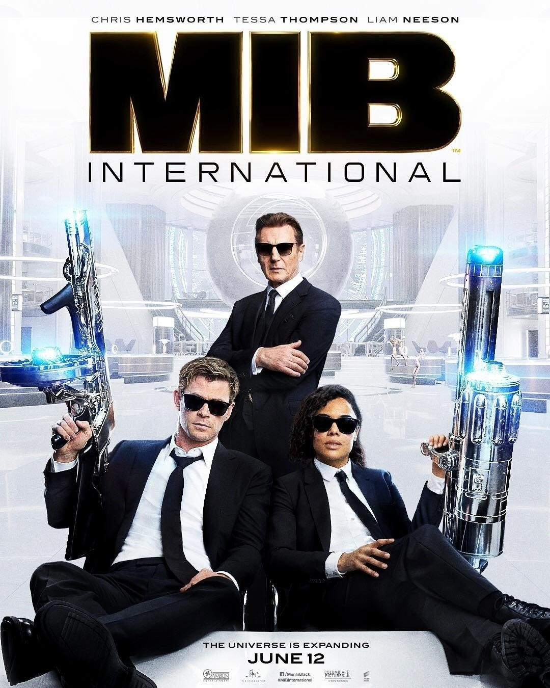 Poster of Columbia Pictures' Men in Black International (2019)